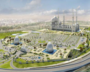 Zayed Grand Mosque - Visitor's Centre & Plaza, - Abu Dhabi